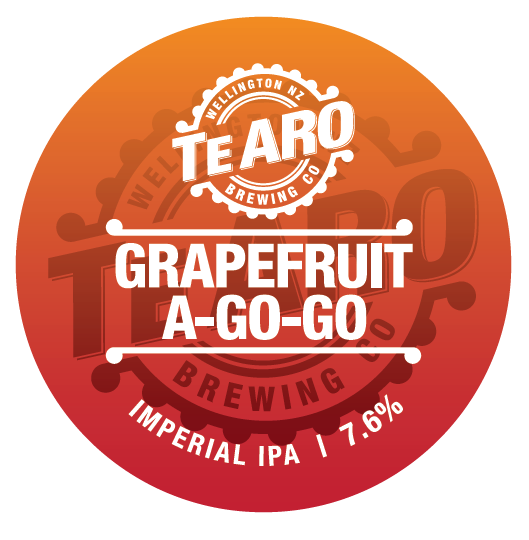 Short Dated Grapefruit A-Go-Go IIPA - 500ml Bottle