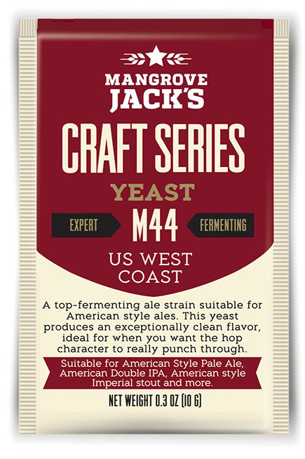 M44 US West Coast Yeast  Yeast - 10g