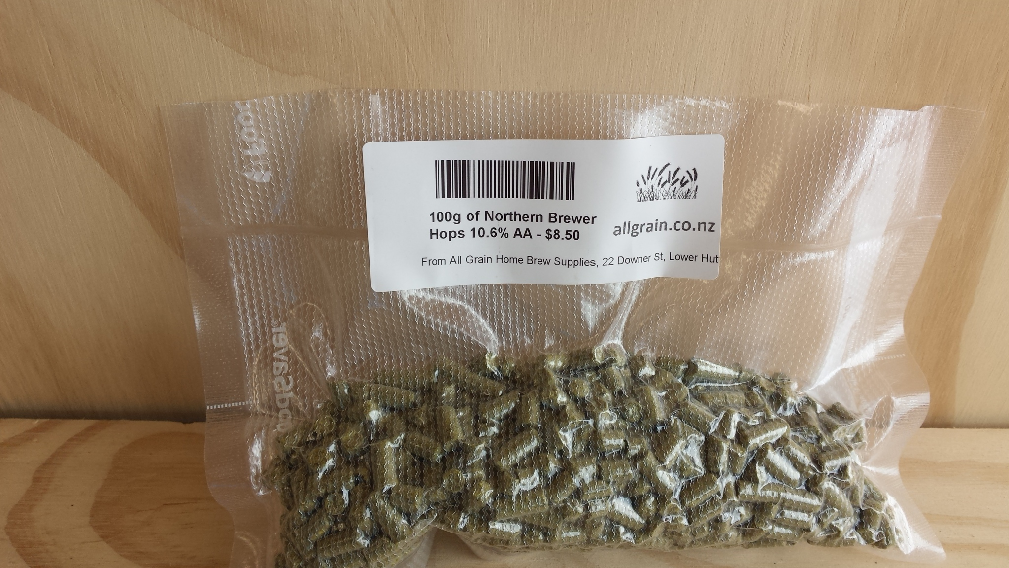 100g US Northern Brewer Hop Pellets