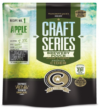 Mangrove Jack's Craft Series Apple Cider Brewery Pouch