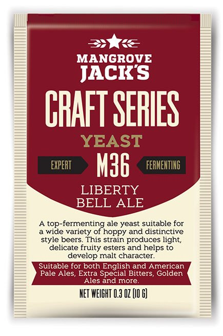 M36 Liberty Bell Ale Yeast  - 10 g
